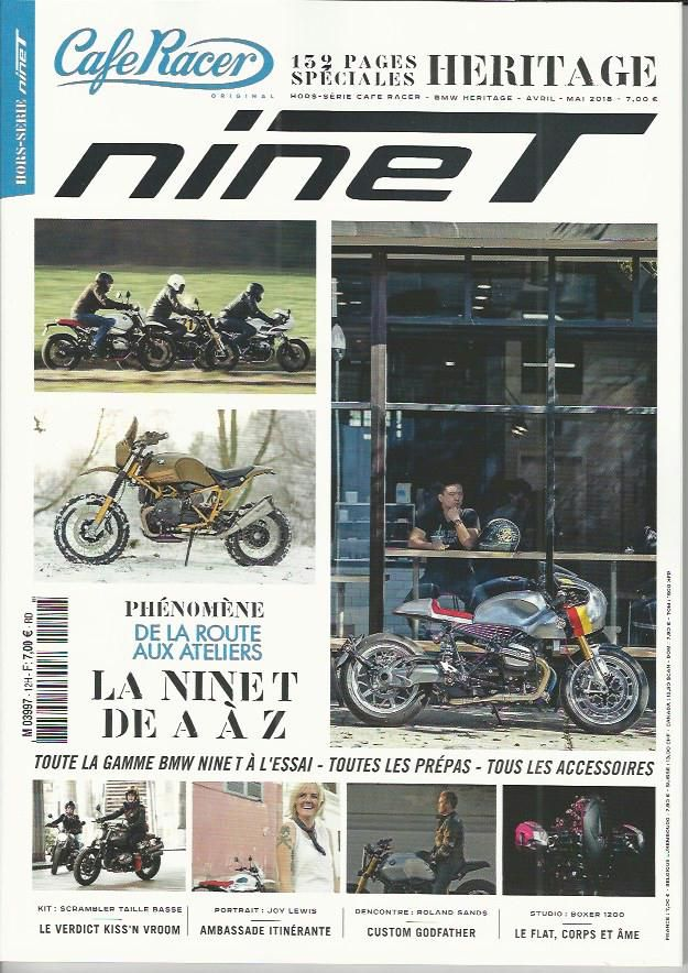 Cafe Racer French Magazine Cafe Racer Bmw Heritage