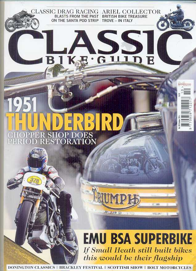 Classic Bike Guide Magazine - No 282 October 2014