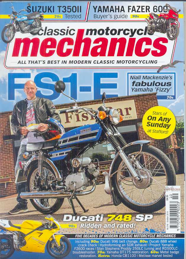 Classic Motorcycle Mechanics Magazine - No 348 / October 2016