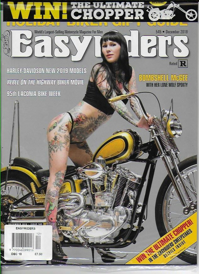 Easyriders Magazine - Issue 545 / December 2018