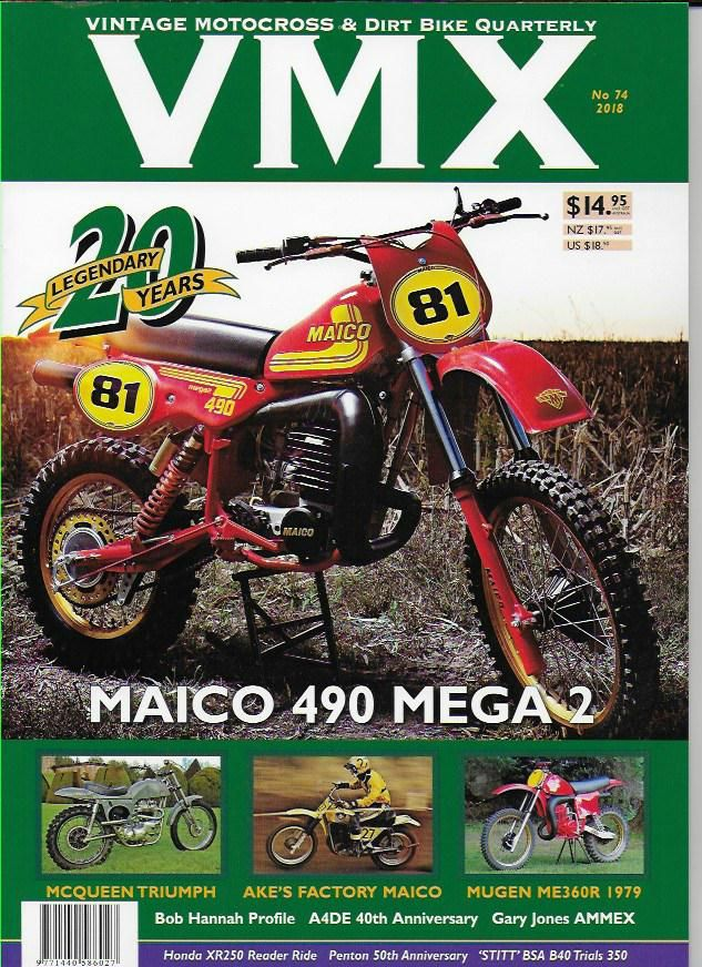 Vmx Magazine - Issue 74